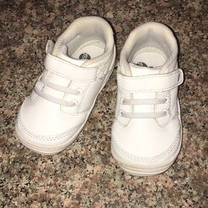 Baby Stride Rite white sneakers